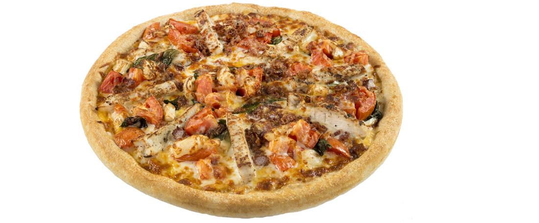 Alfredo Pomodoro Pizza