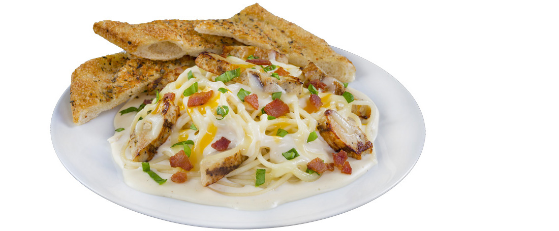 Chicken Bacon Spaghetti