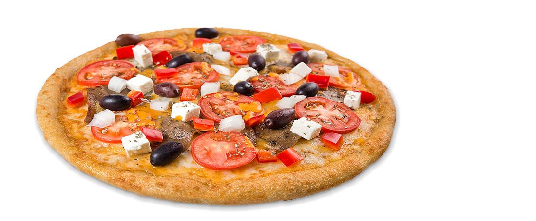 Greican Gyros Pizza