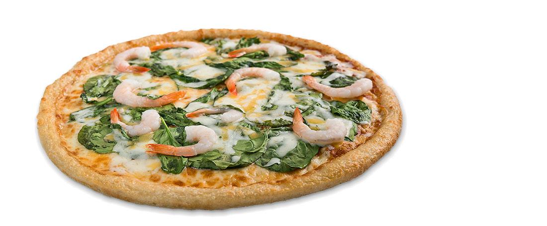 Sarpino's Alfredo Shrimp Pizza