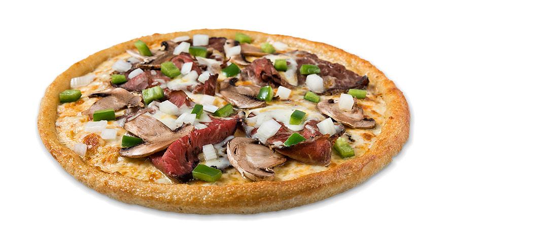 Sarpino's Steak Pizza